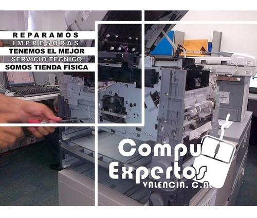 taller servicio tecnico reparacion impresoras