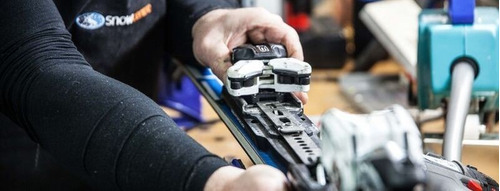 taller snowboard ski servicio afilado encerado reparaciones