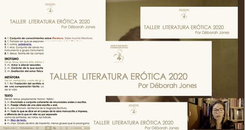 talleres literarios online (adultos y niños) - déborah jones