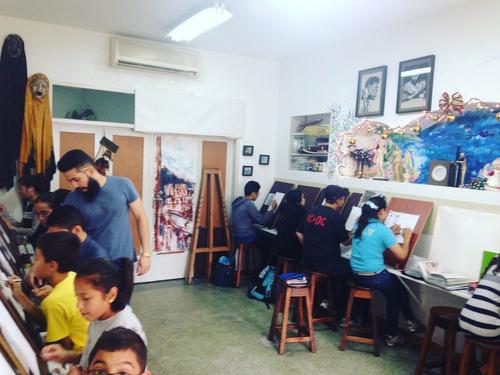 talleres vacacionales y clases de dibujo y pintura