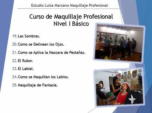 talleres y cursos  maquillaje profesional con luisa marcano