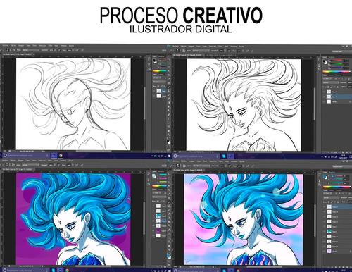 tallerista docente escultura pintura ilustracion digital