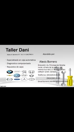 taller.técnico  caja automática bmw.y mercedes y otras marca