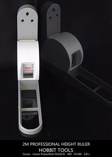 tallimetro de pared. 2mts. portatil