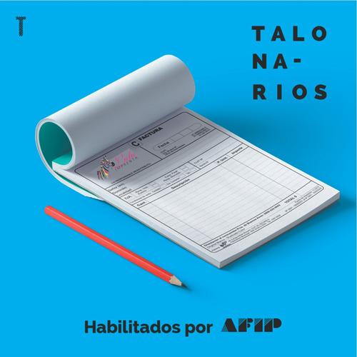 talonarios de facturas - monotributo - afip - imprenta