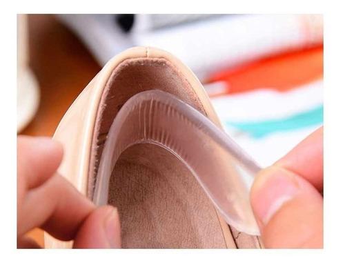 talonera autoadherible de gel para zapato