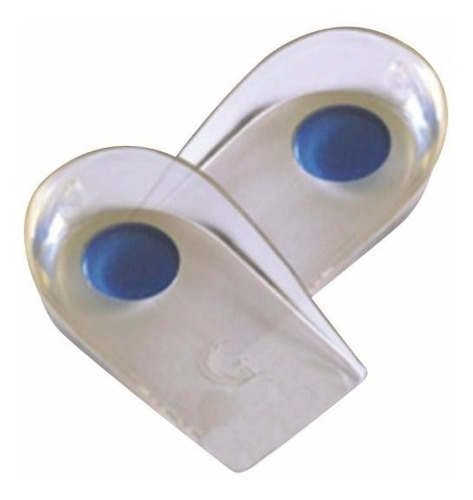 talonera punto azul apoyo extra espolón. gelform. silicona