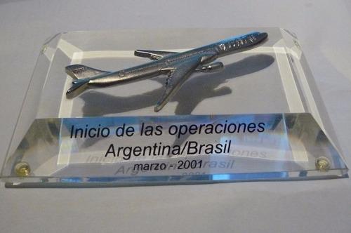 tam lineas aereas avion de escritorio ruta aerea 2001