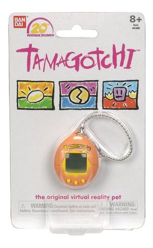 tamagotchi 20th aniversario anaranjado nostálgico