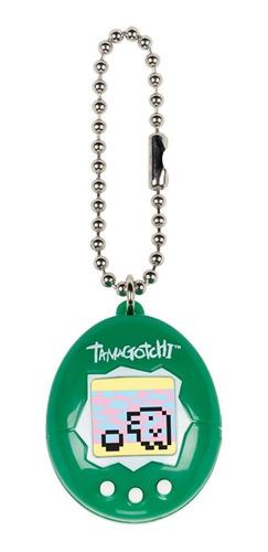 tamagotchi 20th anniversary bandai virtual pet green white