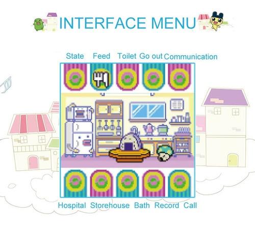 tamagotchi cartoon electronic pet game handheld virtual pet