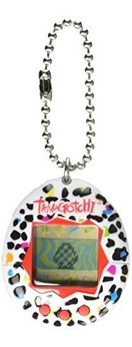 tamagotchi juego electrónico estampado leopardo