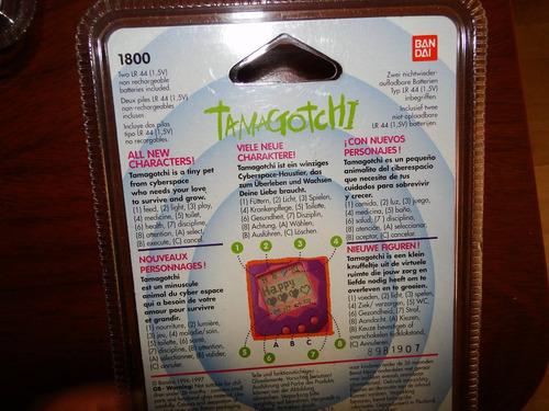 tamagotchi primera generación - bandai - año 1997 - sellado