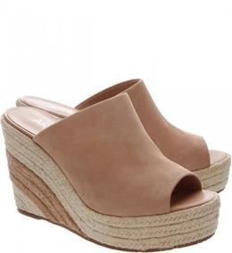 78a109c08 Tamanco Salto Anabela Cortica Arezzo Sapatos Feminino - Sapatos no ...