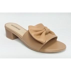 ee05c7b84 Sapato Salto Baixo Confort Flor Azaleia - Sapatos com o Melhores Preços no  Mercado Livre Brasil