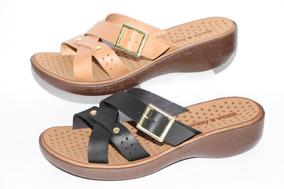 310929139 Tamanco Anabela Terra E Água - Sapatos com o Melhores Preços no Mercado  Livre Brasil