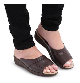 ca7600e47 Tamanco Anabela Tchocco Couro Nude - Sapatos com o Melhores Preços no  Mercado Livre Brasil
