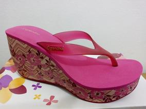 fd89d58b2b Tamanco Anabela Grendha - Sapatos no Mercado Livre Brasil