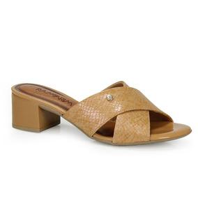 c1c6fb6ef Sandalia Salto Grosso Nude Ramarim - Sapatos no Mercado Livre Brasil