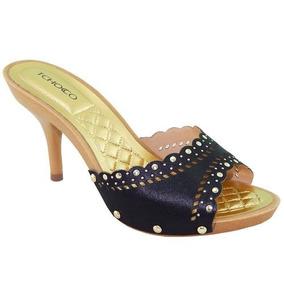c3b21b139 Sapatos De Salto Lindos E Baratos - Tamancos e Mules no Mercado Livre Brasil