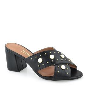 ece8eb9fbd Sandalia Vizzano Preta Perolas E Sandalias - Sapatos para Feminino ...