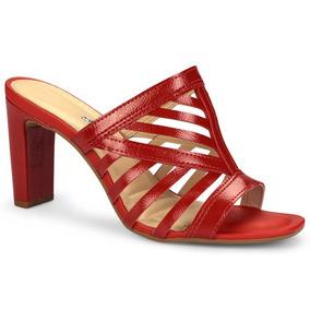 180b0f650 Sandalia Salto Dakota Vermelha Feminino - Sapatos no Mercado Livre ...