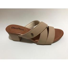 6292b67ea2 Travesti De Salto Alto Feminino Sandalias Usaflex - Sapatos no ...