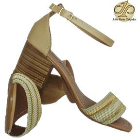 66adf41ab0 Tamanco Salto Grosso - Sapatos para Feminino Nude no Mercado Livre ...