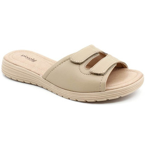 624337488 Feminino Tamancos Comfortflex - Sapatos Marrom claro no Mercado ...