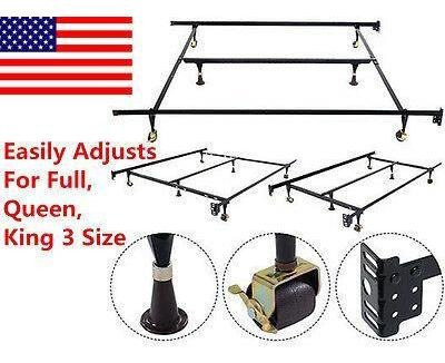 tamaños de cama de metal de estados unidos inicio ajust-4704