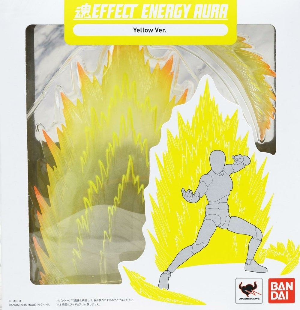 Energy Aura Yellow Ver Tamashii Effect Bandai