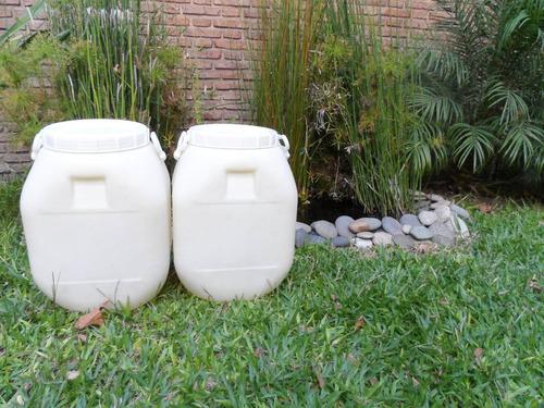 tambor bidon cuñete de plastico de 50 kilos/litros