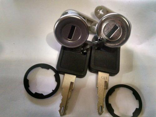 tambor cilindro de puerta renault 19 clio 95/99 juego de 2
