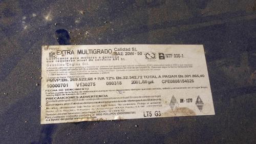 tambor de aceite diesel 50 (oferta) 470 verd...sss