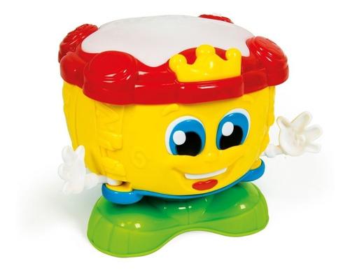 tambor de actividades con sonido clementoni