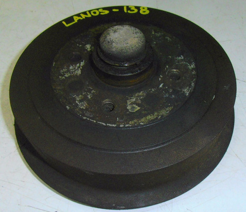 tambor de freno trasero con masa daewoo lanos año 1996-2002