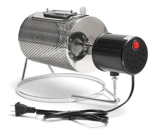 tambor de granos de café tostador de acero inoxidable 220v