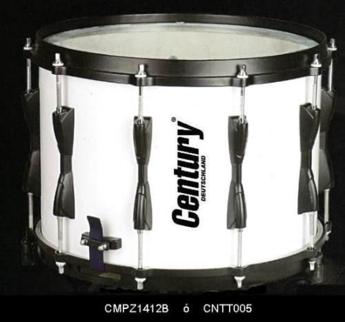 tambor de marcha pro blanco century 14x12 cntt005 !