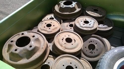 tambor freio com varias peças vw,fiat jeep,ford nao