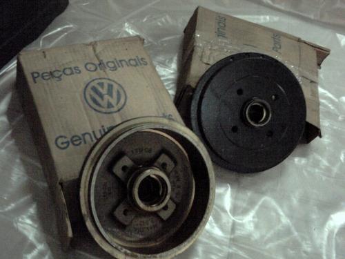 tambor freio cubo traseiro polo classic 1.8 97 02 vw origina