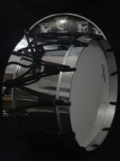 tambor kínder infantil vz aros de aluminio envio gratis