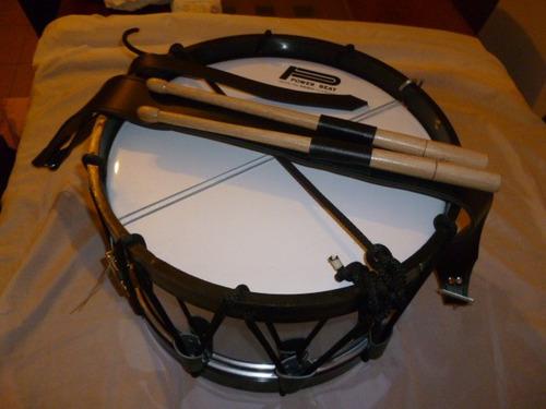 tambor kinder para banda de guerra aros de plastico