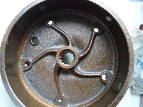 tambor kombi  de freio roda traseira novo