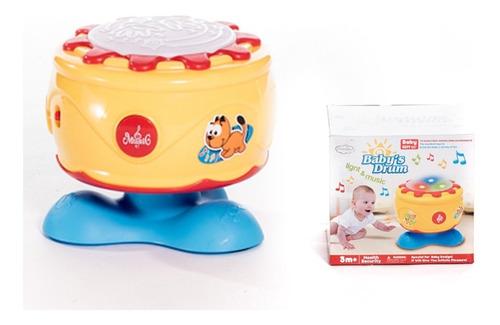 tambor musical con luces sonidos juguete infantil +3m