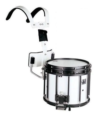 tambor / redoblante de marcha parquer 14x12 parche remo