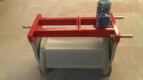 tambor rotativo para galvanoplastia