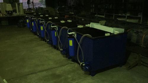 tambor rotativo para galvanoplastia cubas bombas filtro