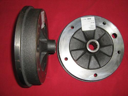 tambor rueda trasera vocho 1500 cc 69-73 5 birlos tipo orig.