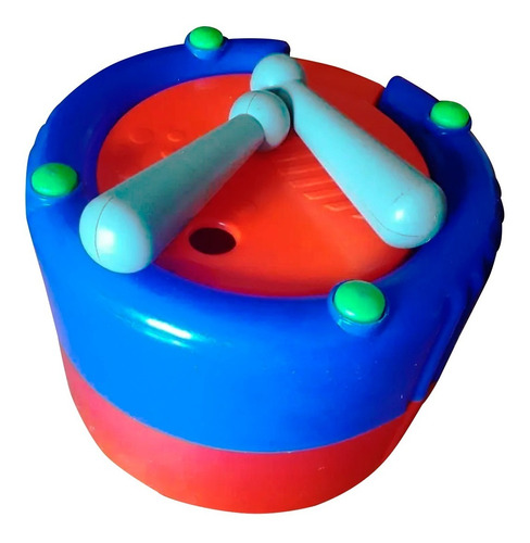 tambor y encastres 2 en 1 didactico bebes antex en cadia