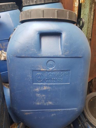 tambores-barriles plásticos 60 litros